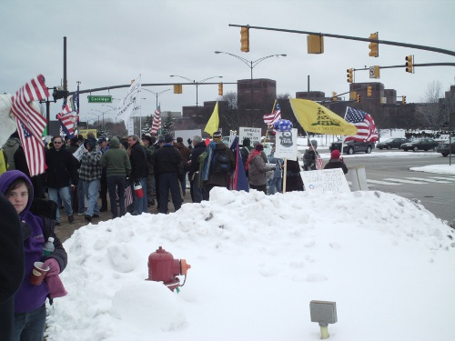 "Images from ""Troy Rally to 'Win Back Our Government'"""