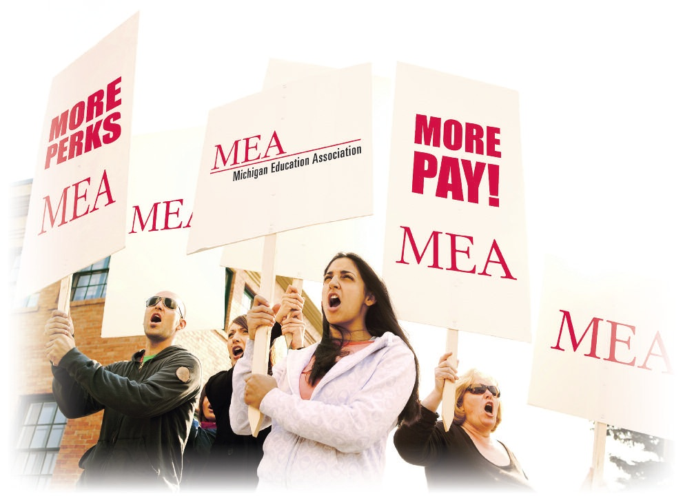 "Images from ""Recall Battlefield Report: Michigan Chamber Taking on 'Greedy Teachers Union'"""