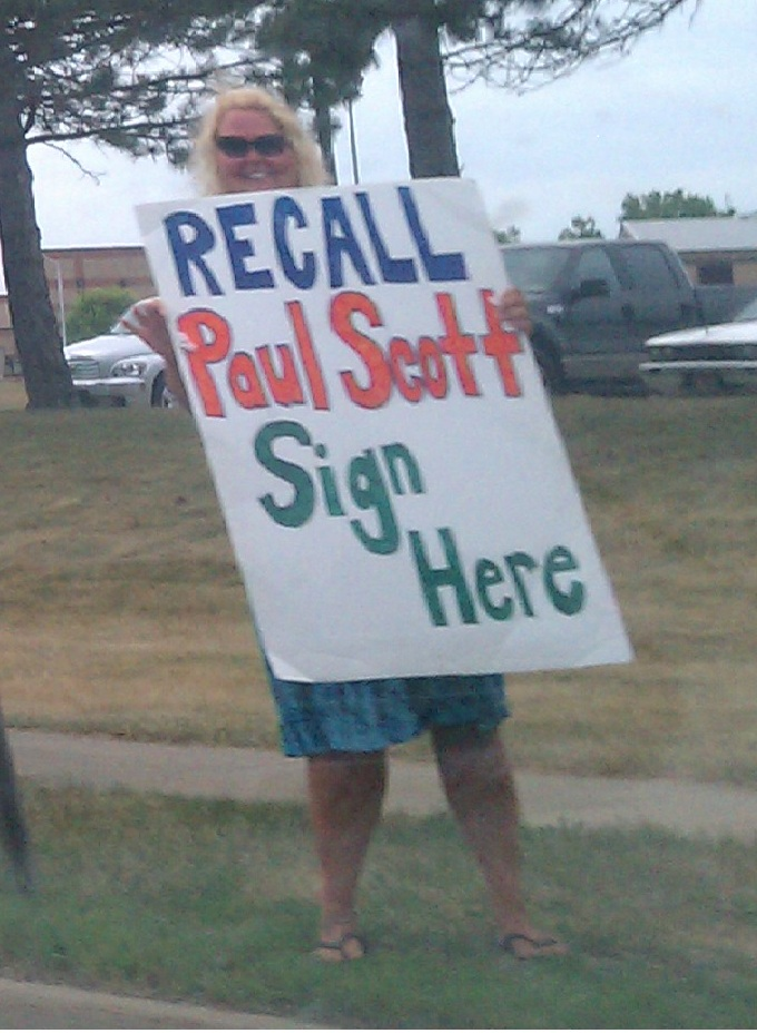 "Images from ""Parent Says Daughter's Class Cut for Lawmaker Recall Effort"""