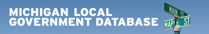 Michigan Local Government Database