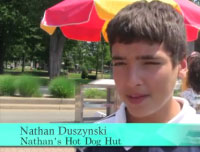 Nathan Duszynski — Nathan's Hot Dog Hut