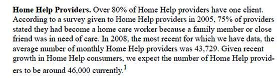 "Images from ""Study Says Most Home Health Care Workers Taking Care of Family, Friends"""
