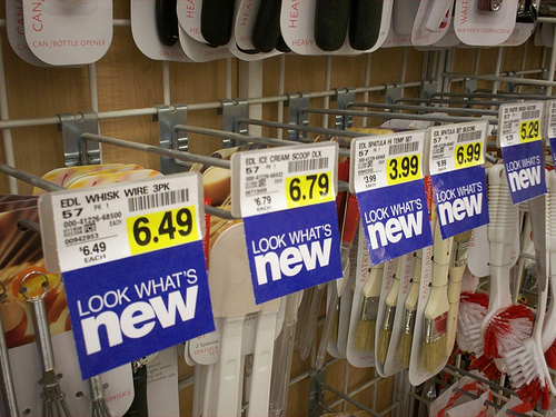 Store Tags: Sticky Data In Item Pricing 'Study'