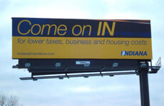 Indiana billboard
