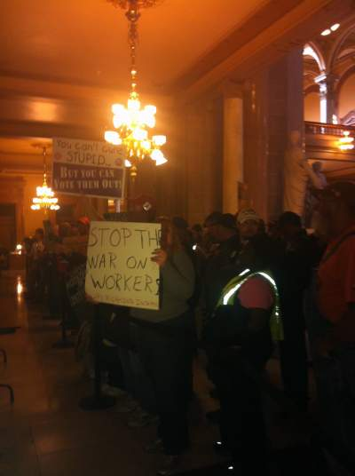 "Images from ""Right-to-Work Inches Ahead in Indiana"""