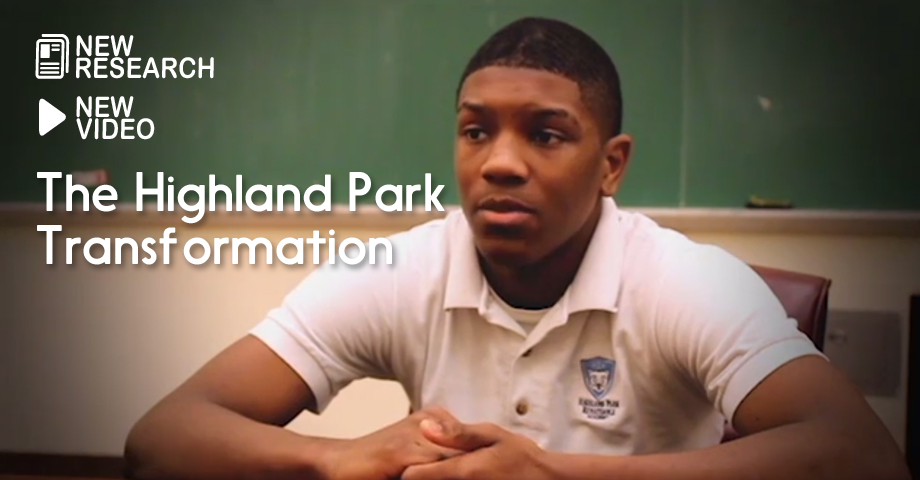 "Images from ""Documentary: The Highland Park Transformation"""