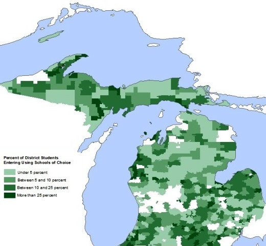 "Images from ""Study: Michigan Students Benefit from Using 'Schools of Choice' """