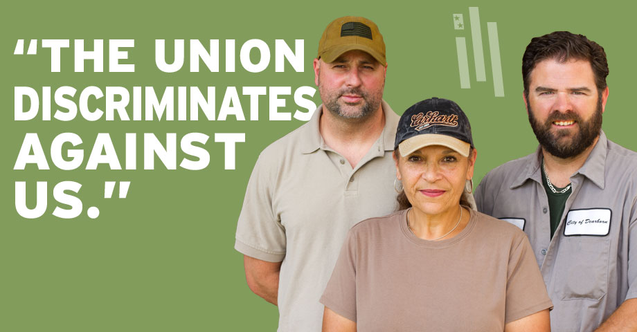"Images from ""Teamsters Union Backs Away From Discriminatory Practice"""