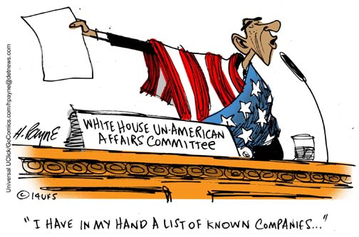 Henry Payne Cartoon - Cos UnAmerican