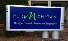 Pure Michigan Sign
