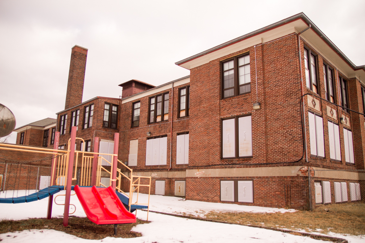 "Images from ""Detroit Schools Will Sell to a Prison, But Not a Charter School"""