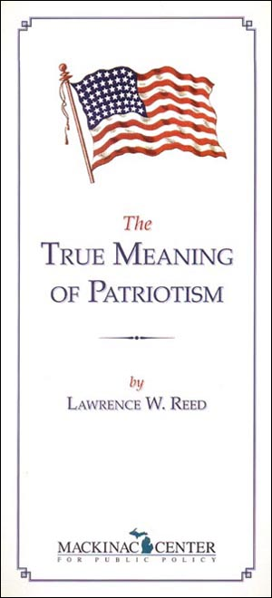 true patriotism essay Short essay on patriotism mili advertisements:  a true patriot never advertises patriotism is much different from narrowness related articles.